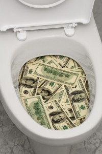feng shui money toilet